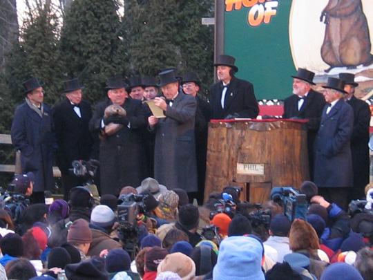 Leselust trifft auf Bierdurst - Groundhogday2005